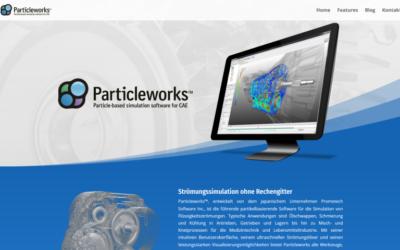 Release von particleworks.de für den deutschsprachigen Raum
